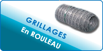 Grillages en rouleaux