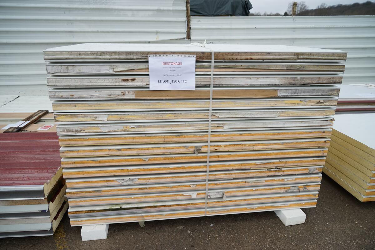 Soldindus vente de produits industriels d class s for Panneau sandwich chambre froide d occasion